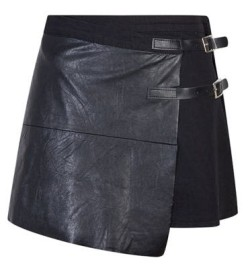 Double Buckle Pleather Kilt R129.99