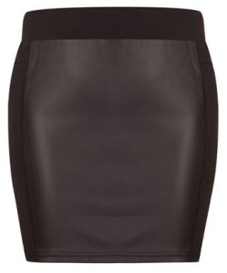 Pleather Front Mini Skirt R69.99